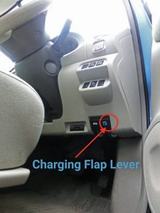 aleaf charging flap lever-CIMG7925