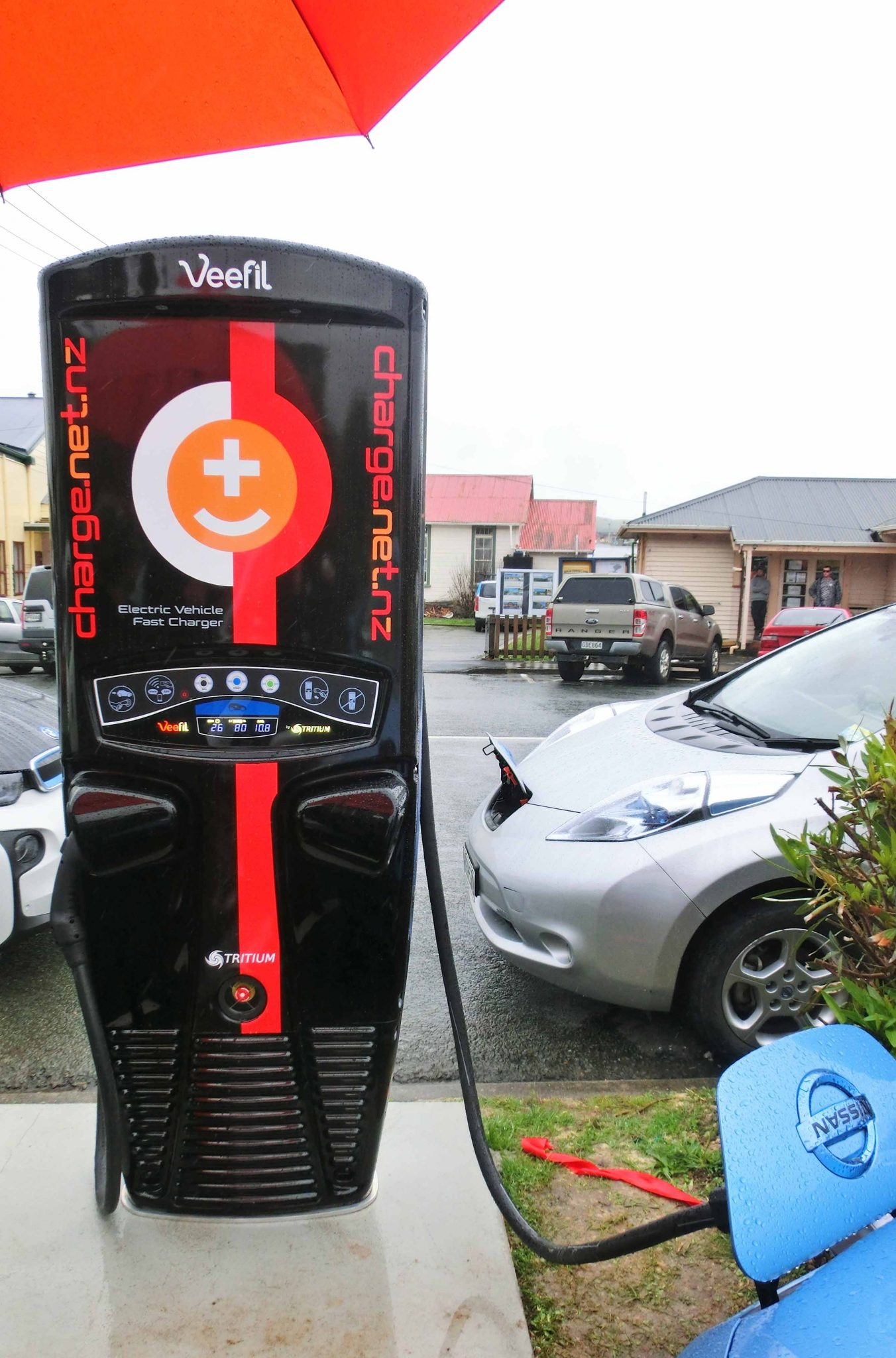 First Fast Charger in NZ
